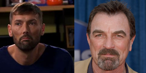 Thomas Marci et tom Selleck