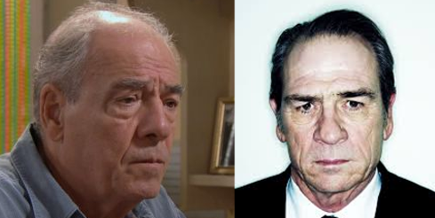 Roland Marci et Tommy Lee Jones