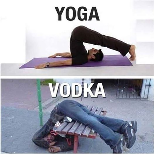 Vodka yoga